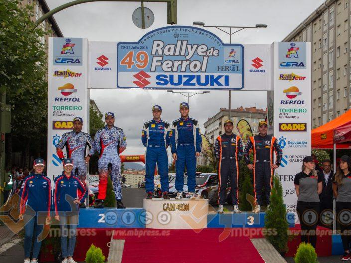 CERA - Rally de Ferrol 2018